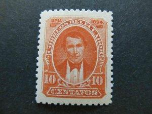 A4P46F27 Ecuador 1894 10c mh*