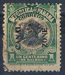Panama 52 Used Balboa 1918 (HV0057)