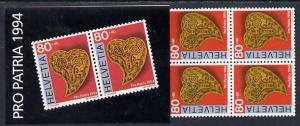Booklet - Switzerland 1994 Pro Patria booklet complete an...
