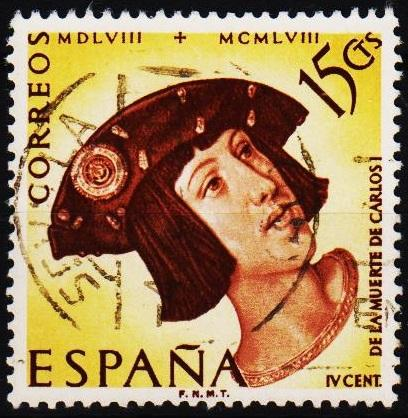 Spain.1958 15c S.G.1287 Fine Used