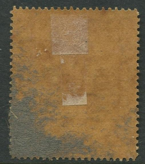 BRUNEI - Scott 28a - Overprint Issue - 1922- MH - 10c Stamp