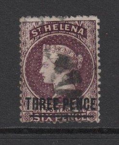 St. Helena, Sc 14 (SG 12), used