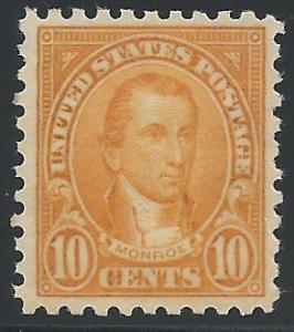 Scott 591, Original Gum, 1923-29 Issues