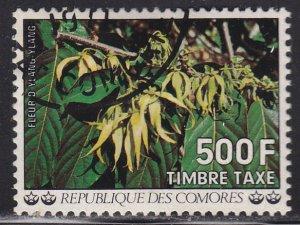 Comoro Islands J17 Flowers 1977