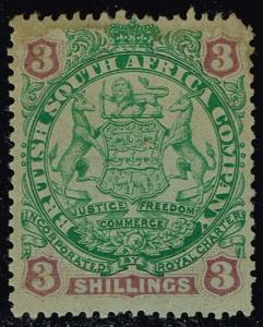 Rhodesia #36 Coat of Arms; Unused (90.00)