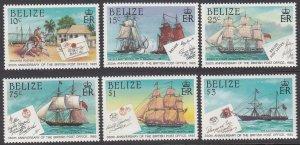Belize 765-770 MNH CV $6.35