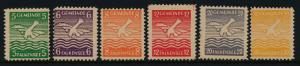 Germany - Soviet Zone - Local issue stamps MNH - Birds