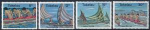 Tokelau Islands 1978 Canoe Racing Set of 4 SG65-68 MH