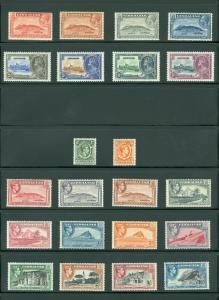 GIBRALTAR : Beautiful collection all MOG & VF. Some NH included. SG Cat £385.00