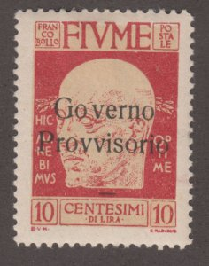 Fiume 135 Gabriele d'Annunzio 1921