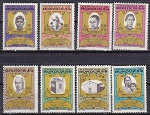 Honduras 1965 Scott C369-C376a Father Subirana Death Centenary MNH