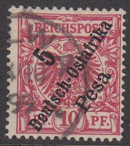 German East Africa 8 Used CV $4.50