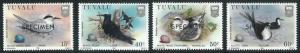 70732 -  TUVALU - STAMP :   BIRDS  4 values MNH - Overprinted SPECIMEN
