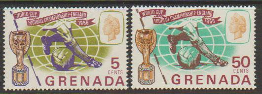 Grenada  QE II  SG 246 - 247  lightly mounted mint
