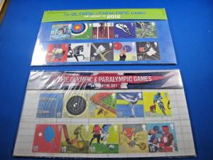 GREAT BRITAIN PHILATELIC PRESENTATION PACK - 2010 -OLYMPIC & PARALYMPIC GAMES(2)