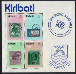 Kiribati Death Centenary of Sir Rowland Hill MS SG#MS104 SC#344a