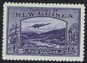 NEW GUINEA 1935 BULOLO AIRMAIL 2 POUNDS MNH **