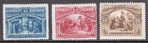 El Salvador - Scott #101//103 - MH - Pencil on reverse - SCV $3.30