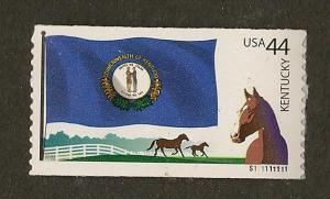 4293 MNH, 44c. Flags of Our Nation, Plate # Single