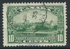 Canada  SG 339  space filler thins on reverse