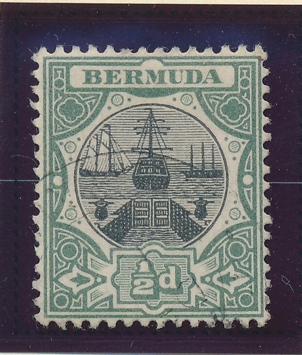 Bermuda Stamp Scott #28, Used