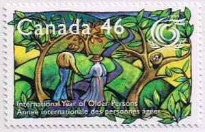 Canada Mint VF-NH #1785 Year of Older Persons