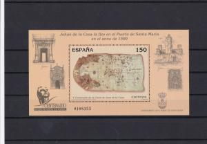 spain santa maria  mint never hinged stamps sheet ref 16409