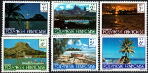 French Polynesia #313-8  MNH CV $3.05 (X2337)