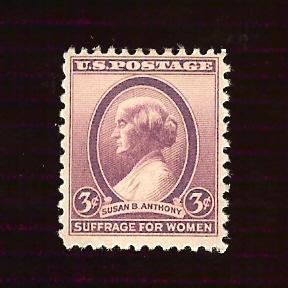 US #784 3¢ Susan B. Anthony
