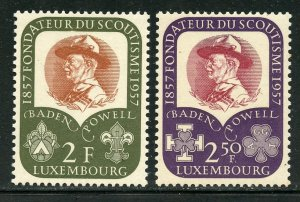 Luxembourg # 324-5, Mint Never Hinge. CV $ 3.50