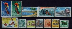 Tanganyika 45-56 MNH SCV29.80