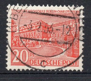 Germany Berlin 1949 Early Issue Fine Used 20pf. Postmark NW-05376