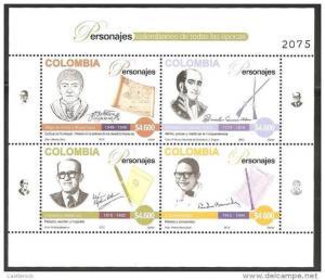 O) 2012 COLOMBIA, CACIQUE  TURMEQUE DIEGO TORRES -MARTYR PANTALEON GERMAN DE RIB
