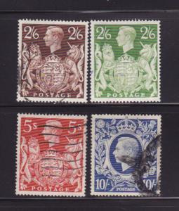 Great Britain 249-249A, 250, 251A U King George V (B)