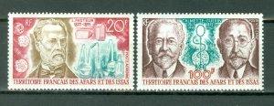 AFARS & ISSAS PASTEUR #C70-71...SET...MNH...$8.75