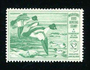 #RW16 Goldeneye Ducks 1949 US Federal Duck Stamp MNH