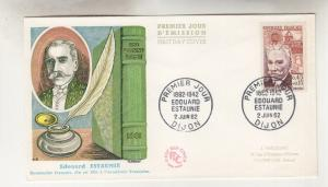 FRANCE, 1962 Red Cross Fund,Edouard Estanie, 45c.+15c., First Day cover.