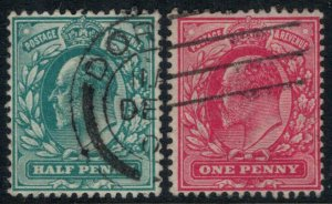 Great Britain #127-8  CV $3.35