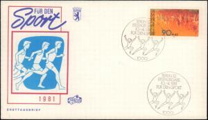 Germany Post-1950, Worldwide First Day Cover, Sports