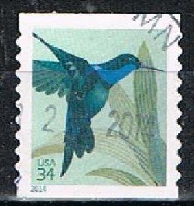 UNITED STATES E5 1- 2014 Hummingbird Coil Single Used