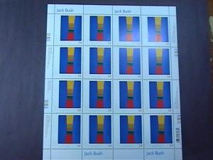 CANADA # 2321--MINT/NEVER HINGED--SHEET OF 16--PAINTINGS BY JACK BUSH--2009