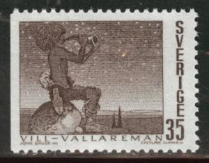 SWEDEN Scott 840  MNH* 1969 Fairy Tale stamp