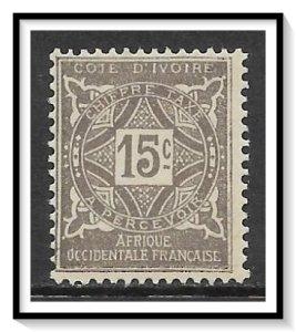 Ivory Coast #J11 Postage Due NG