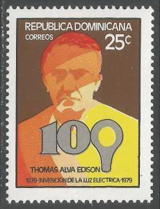 DOMINICAN REPUBLIC 817 MOG H43