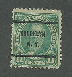 1931 USA Brooklyn, NY  Precancel on Scott Catalog Number 692