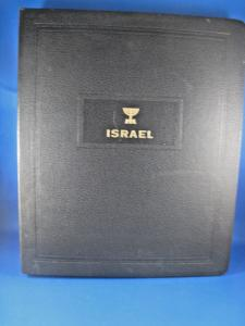 ISRAEL STAMP ALBUM WITH STAMPS  (kb)