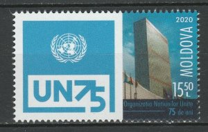 Moldova 2020 United Nations Organization - 75th Anniversary MNH stamp