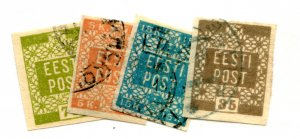ESTONIA 1-4  USED