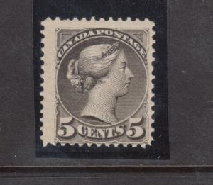 Canada #42 Mint Fine Never Hinged With 1 Short Perf