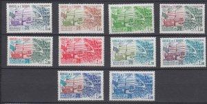J29321, 1981-4 france set mlh/mnh #1o27-36